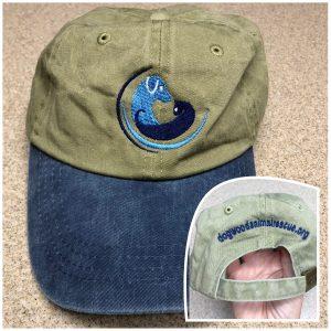 Blue-Khaki Baseball Cap