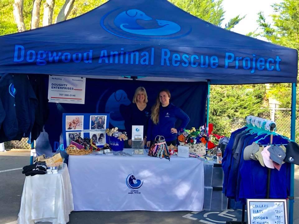 Dogwood Animal Rescue Project Volunteers Participate at Community Event in Sebastopol, Apple Blossom Festival