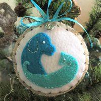 Beautiful Dogwood Ornament!