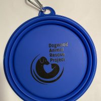Silicone Collapsible Pet Bowl - Royal Blue